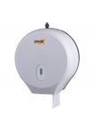 Дозатор за джъмбо ролка тоалетна хартия бял