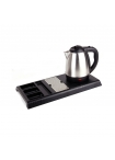 Електрическа кана за чай с поднос и 2 чаши