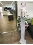Алуминиева стойка за дозатор за дезинфектант с фотоклетка 52