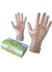 Ръкавици винил без талк ( пудра )